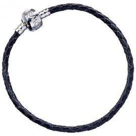 HARRY POTTER - Black Leather Charm Bracelet - 17cm XS