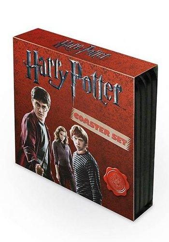 Harry Potter Shields - Coasters Set 4