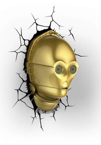 Star Wars: C3PO 3D Light