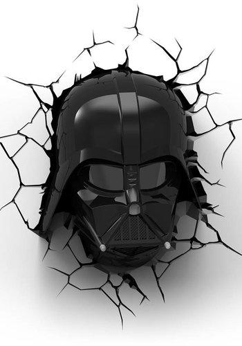 Star Wars: Darth Vader Head 3D Light
