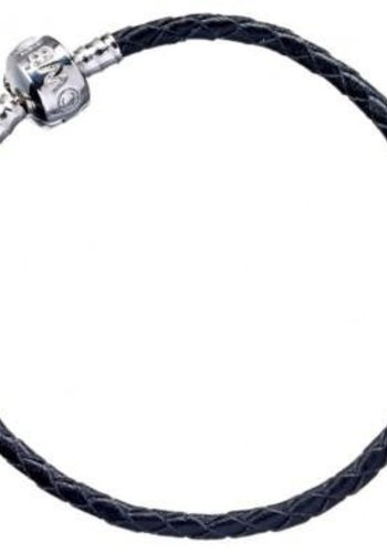 HARRY POTTER - Black Leather Charm Bracelet - 18cm S