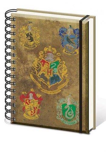 Harry Potter Hogwarts Crest - A5 Notitieboek