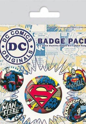 Dc Comics Superman Comic - Buttons