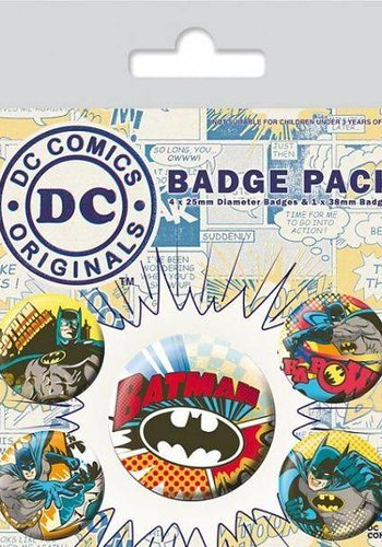 Dc Comics Batman Comic Capers - Buttons