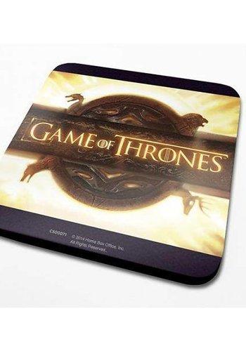 Game Of Thrones Opening Logo - Coaster