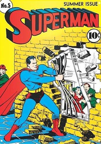 Superman Jailbreak - Tin Sign Large