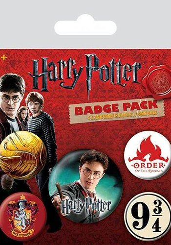 Harry Potter Gryffindor - Buttons