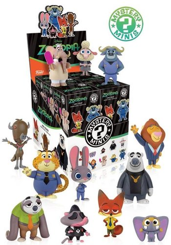 FUNKO Mystery Minis: Zootropolis Price is for one piece