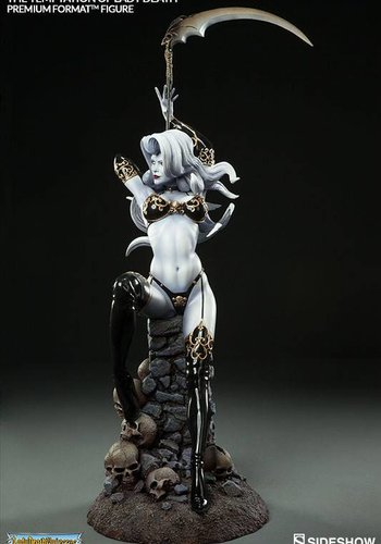 Sideshow The Temptation of Lady Death Premium Format Statue