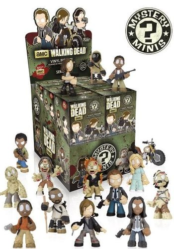 THE WALKING DEAD - Mystery Minis Serie 4 price for one blindbox