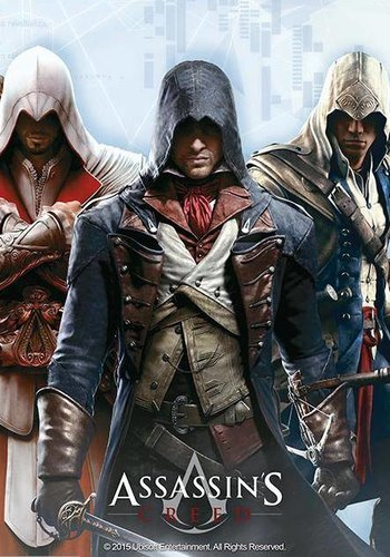 ASSASSIN'S CREED - Mouse Mat - Group