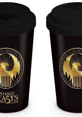 Fantastic Beasts: MACUSA Logo Travel Mug