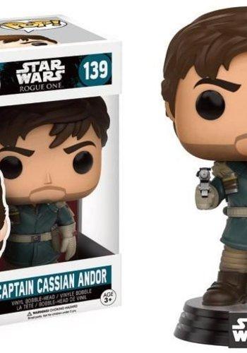 STAR WARS ROGUE ONE- Bobble Head POP N(deg) 139 - Captain Cassian