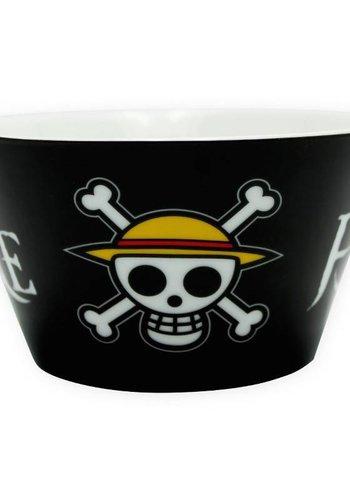 ONE PIECE - Bol 460 ml - Luffy and Chopper - Skull
