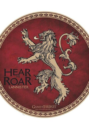 GAME OF THRONES - Mouse Mat - Lannister