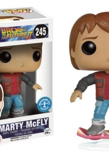 FUNKO BACK TO THE FUTURE - Bobble Head POP N(deg) 245 - Marty on Hoverboard LE
