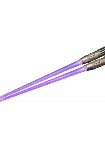Star Wars: Mace Windu Lightsaber Light Up Chopsticks
