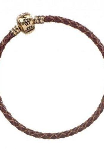 FANTASTIC BEASTS - Brown Leather Charm Bracelet - 17cm XS