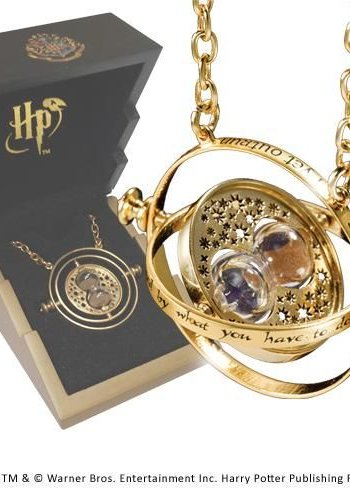 Harry Potter - Time Turner Sterling Silver Gold Plated