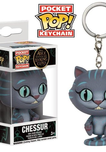 FUNKO Pocket Pop Keychains : Alice through the Looking Glass - Chessur
