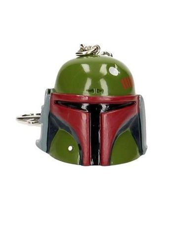 STAR WARS - 3D Helmet Key Ring - Boba Fett