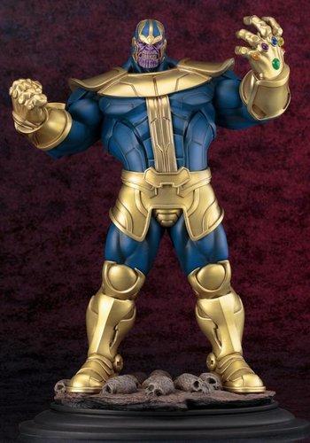 Kotobukiya Marvel: Thanos Fine Art Statue