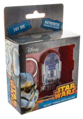 Star Wars - R2-D2 Keychain Torch With Sound