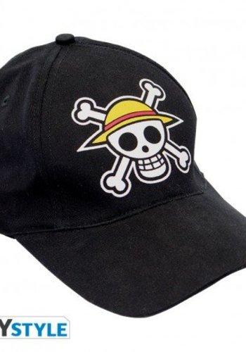 """ONE PIECE - Cap Black """"Skull"""