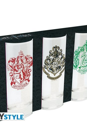 Abysse Corp Harry Potter - Set of 3 glasses