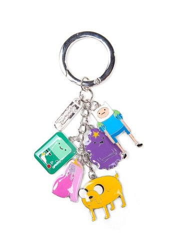 Adventure Time - Charms Keychain - Metal