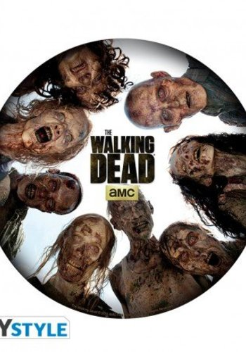 THE WALKING DEAD - Mousemat - Round of zombies - in shape