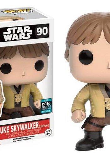 Pop! Movies: Star Wars - Luke Skywalker Ceremony LE