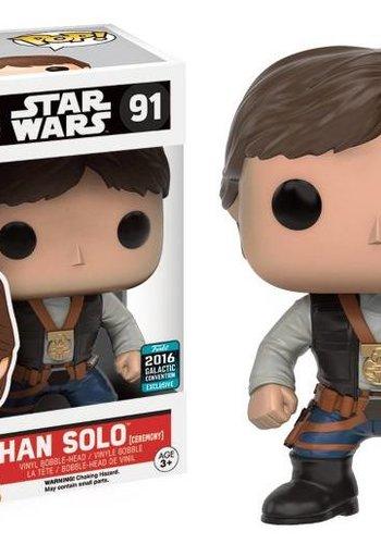 Pop! Movies: Star Wars - Han Solo Ceremony LE