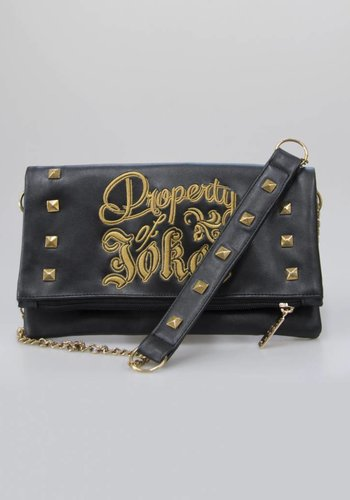 Suicide Squad: Harley Quinn - Property of Joker Black Clutch Bag