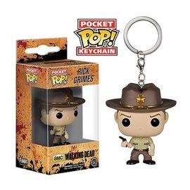 Pop! TV: Pocket Pop! Key Chain - The Walking Dead - Rick Grimes