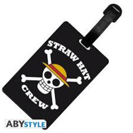 ONE PIECE - Luggage Tag Skull Luffy