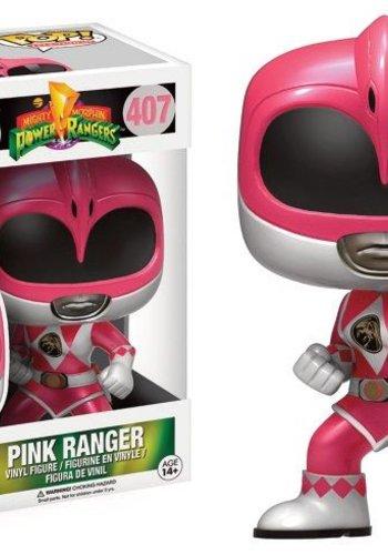Pop! TV: Power Rangers - Metallic Pink Ranger LE