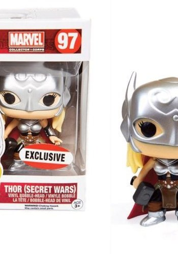 Pop! Marvel: Lady Thor Secret Wars LE