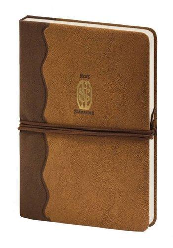 Fantastic Beasts - Newt Scamander Logo Premium A5 Notebook - Brown