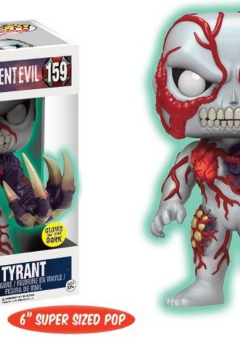 Pop! Games: Resident Evil - 6 inch Glow in The Dark Tyrant LE