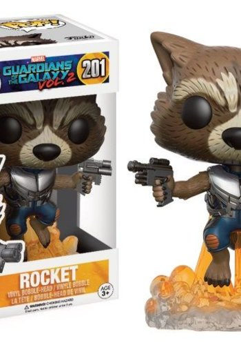 FUNKO Pop! Marvel: Guardians of The Galaxy 2 - Rocket Raccoon