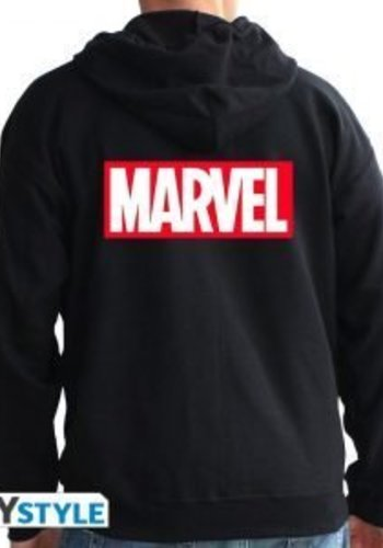 "MARVEL - Sweat - ""LOGO"" man black"