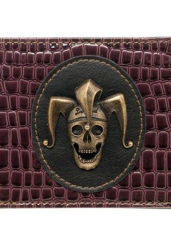 Suicide Squad - Skull Badge Wallet - Purple