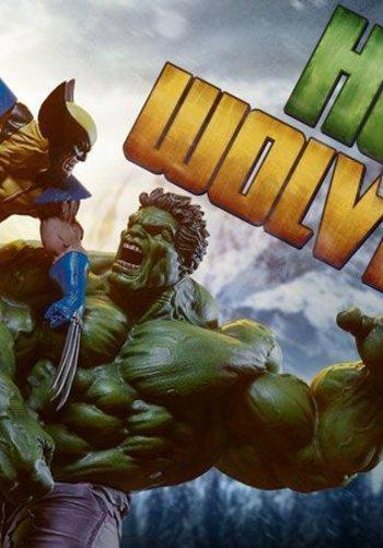 Marvel: Hulk vs Wolverine Maquette