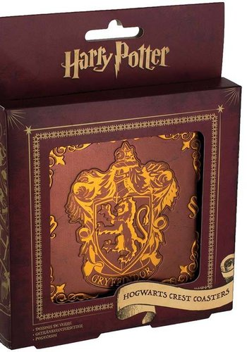 Harry Potter: Hogwarts Crest Coasters