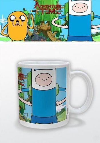 Hole In The Wall Adventure Time Finn & Jake Mug