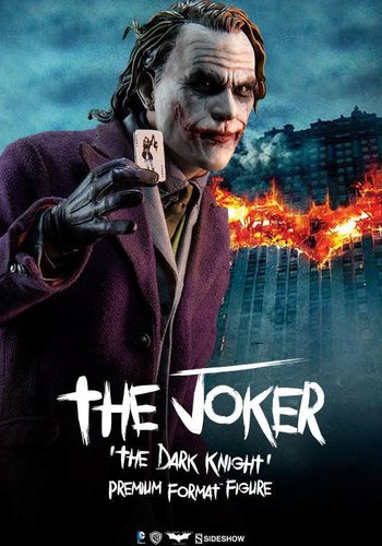 Sideshow Batman The Dark Knight: The Joker Premium Format Statue