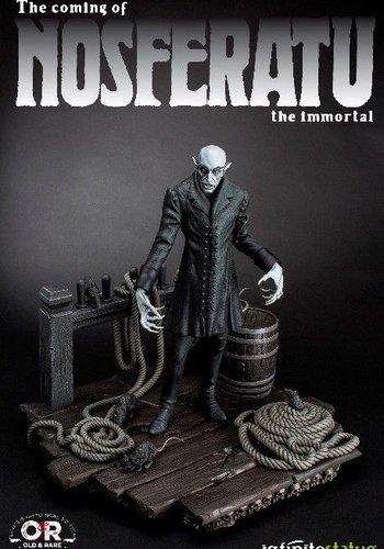 The coming of Nosferatu Statue