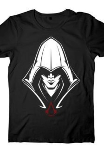 Assassin's Creed: Black Hooded Assassin T-shirt
