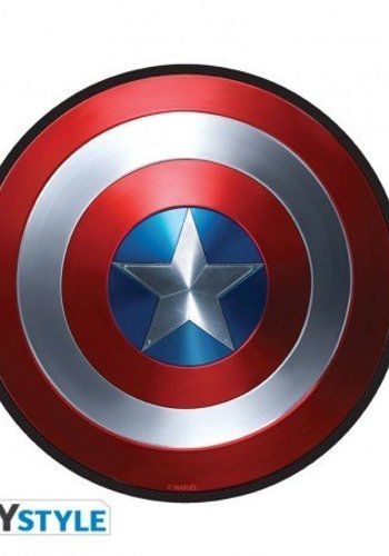 Abysse Corp MARVEL - Mousepad - Captain America - in shape